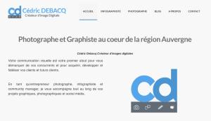 Accueil Cédric Debacq En 20 lignes