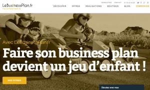 Le Business Plan.fr accueil en 20 lignes